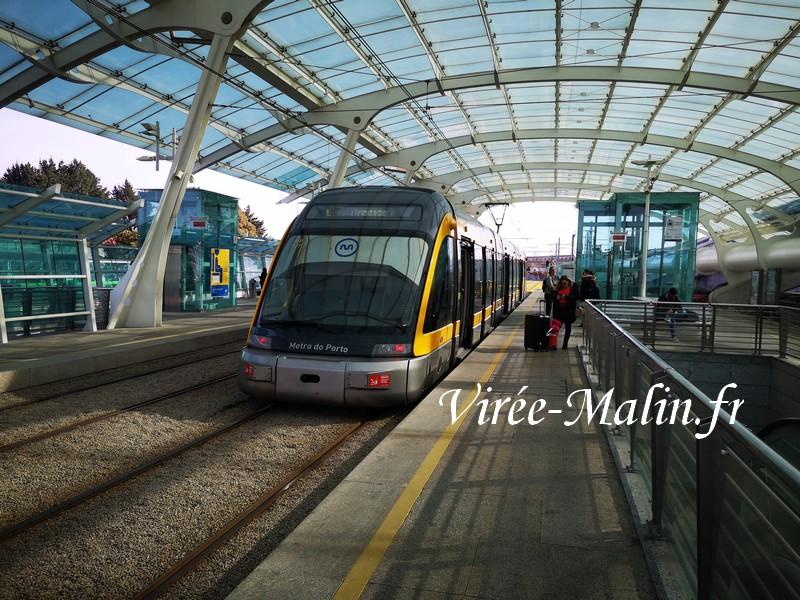 rejoindre-porto-train-aeroport