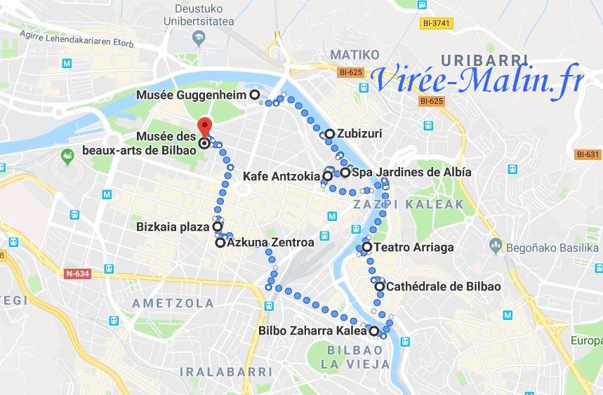 que-visiter-bilbao-carte-googlemap