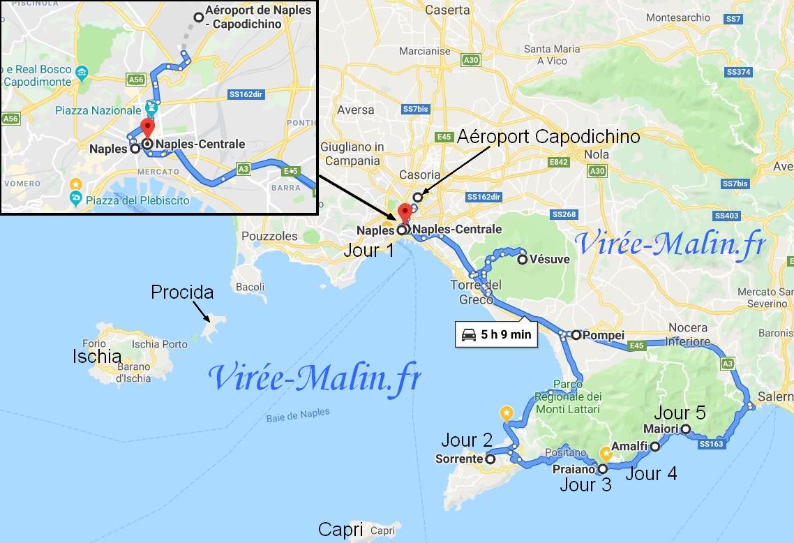 itineraire-voiture-location-depuis-naples-cote-amalfitaine