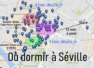 Où dormir à Séville, dans quel quartier loger à Séville ?