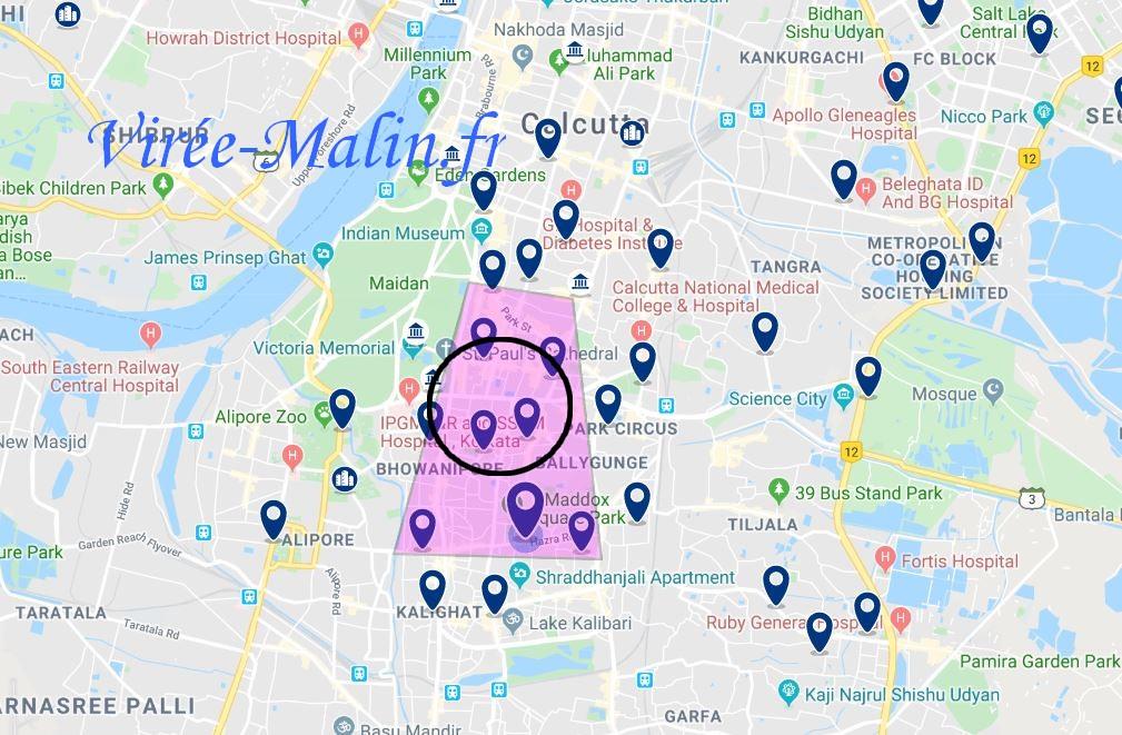 quel-quartier-loger-calcutta-Kolkata