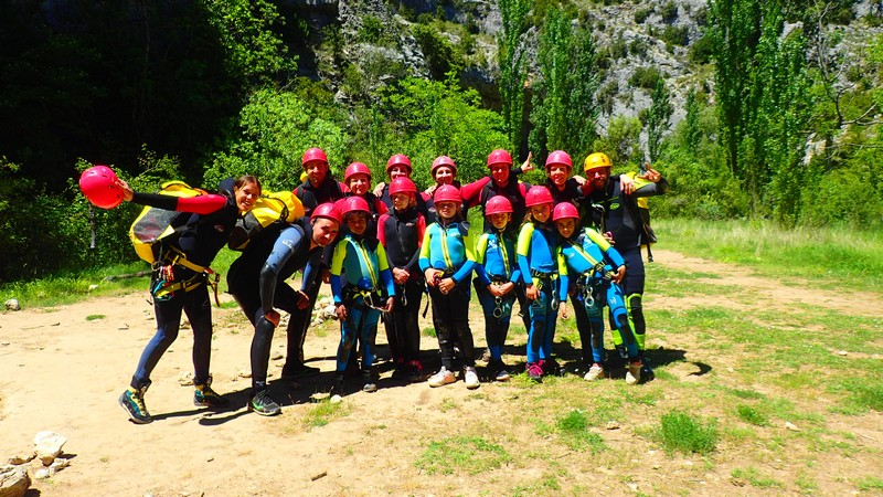 canyoning-Sierra-Guara-en-famille-avec-enfant