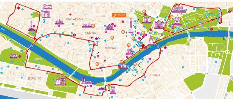 itinéraire-bus-touristique-sevilla