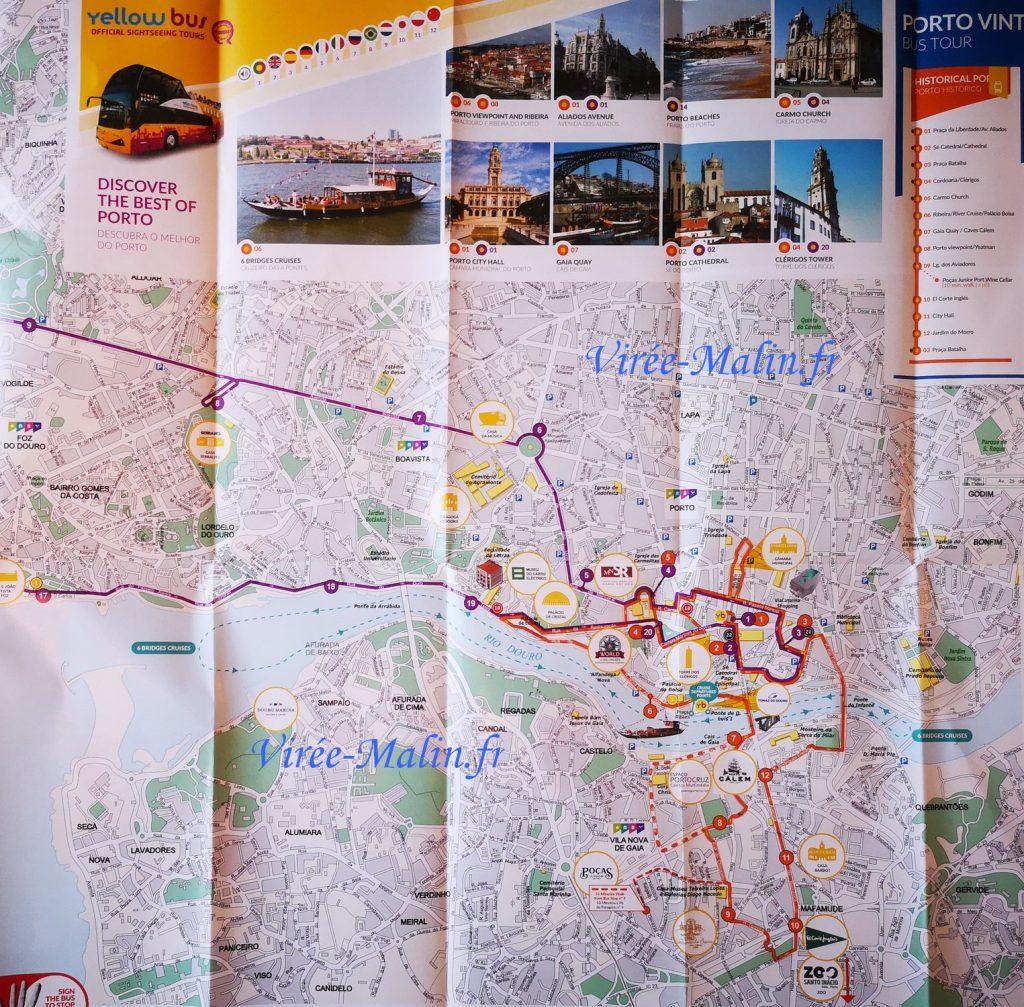 carte-itineraire-bus-jaune-porto