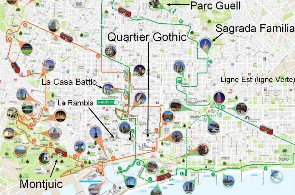 carte-itineraire-bus-touristique-barcelona-city-tour