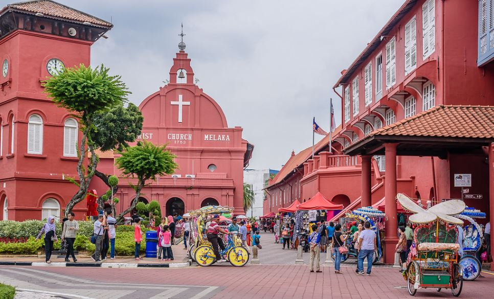 place-rouge-malacca-malaisie
