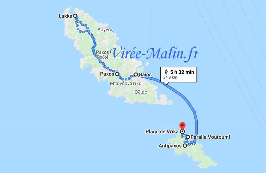 itineraire-bateau-paxos-depuis-corfou