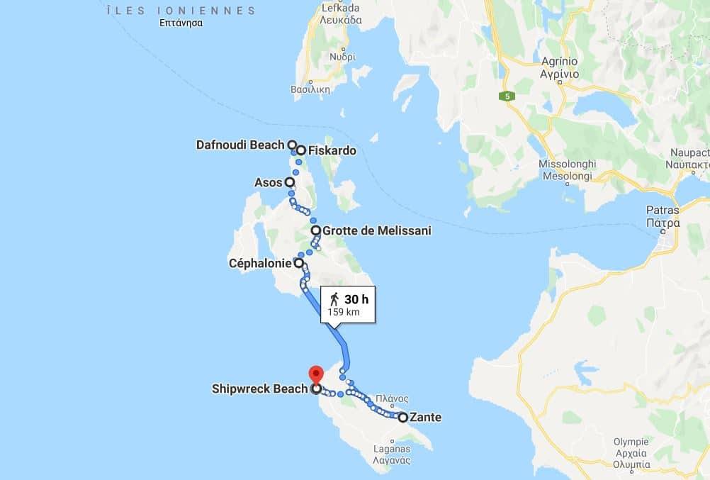 itineraire-ile-cephalonie-en-bateau
