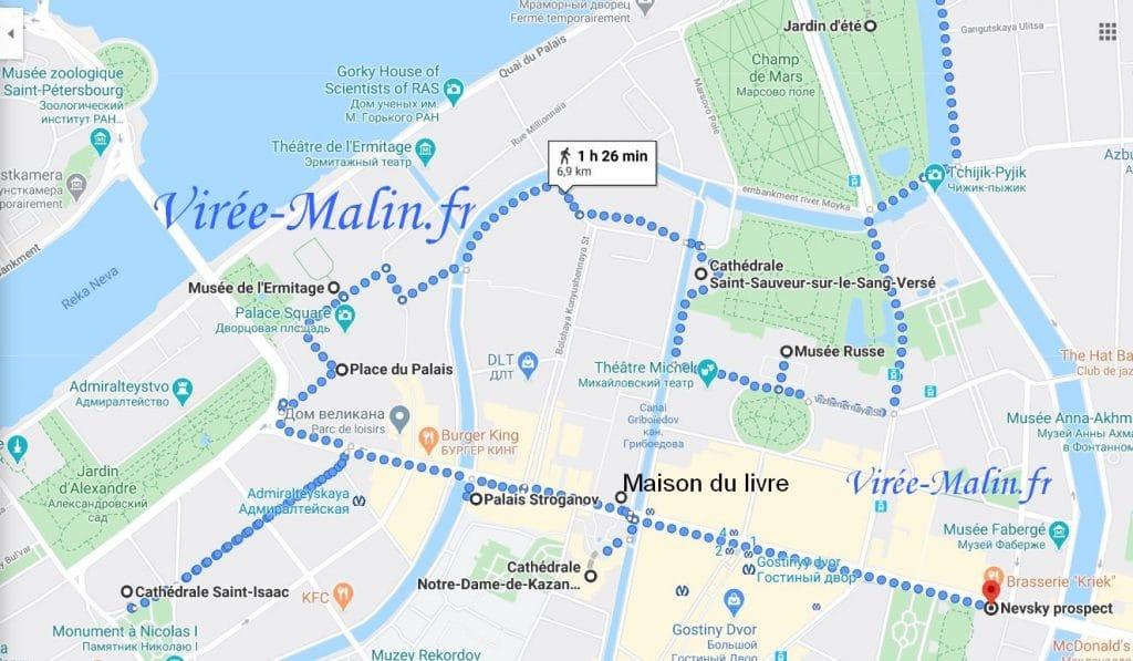 que-visiter-saint-petersbourg-google-map