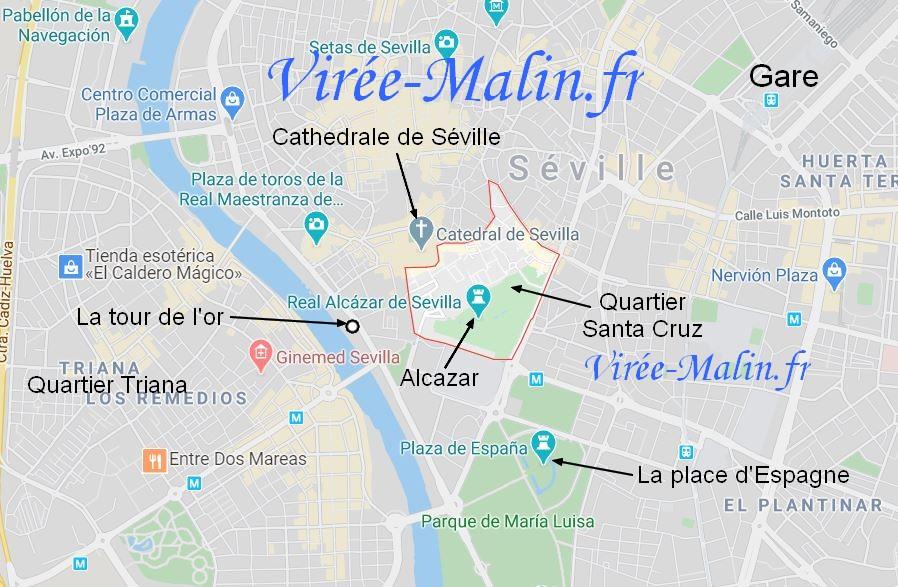 quartier-santa-cruz-seville-carte