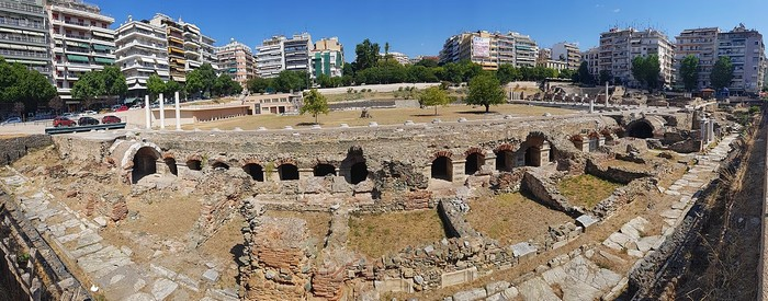 Agora-romaine-Thessalonique