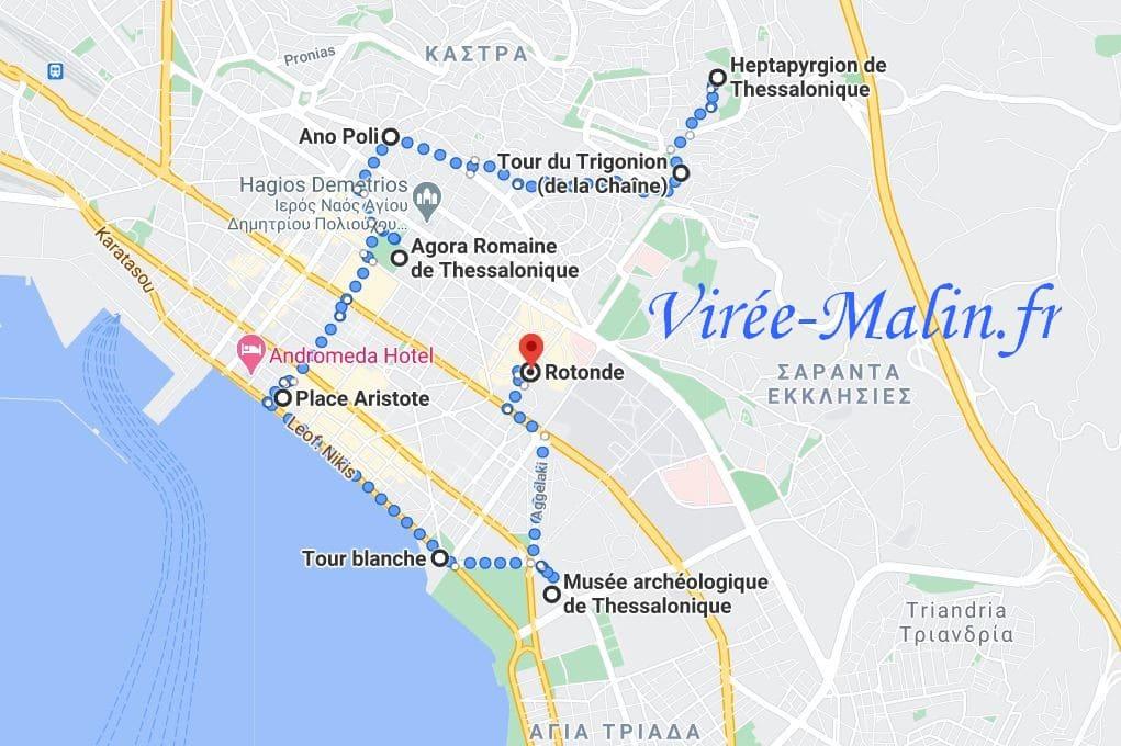 googlemap-hotel-proche-des-visites-thessalonique