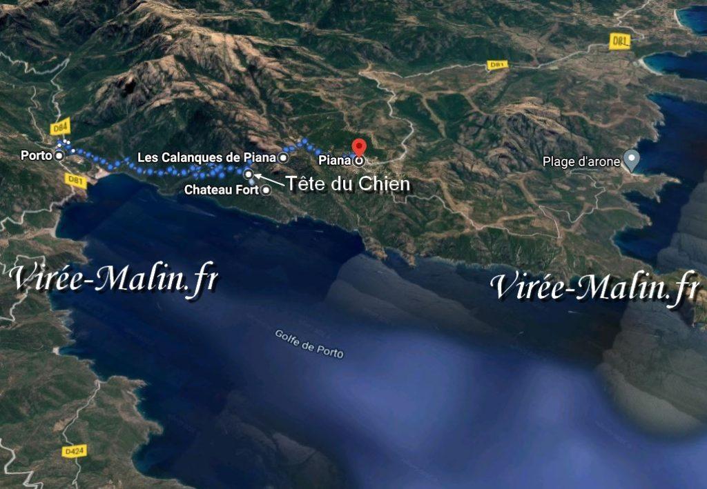 randonnee-calanque-piana-a-pied-googlemap3D