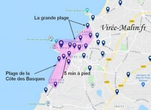Où dormir à Biarritz, dans quel quartier loger à Biarritz