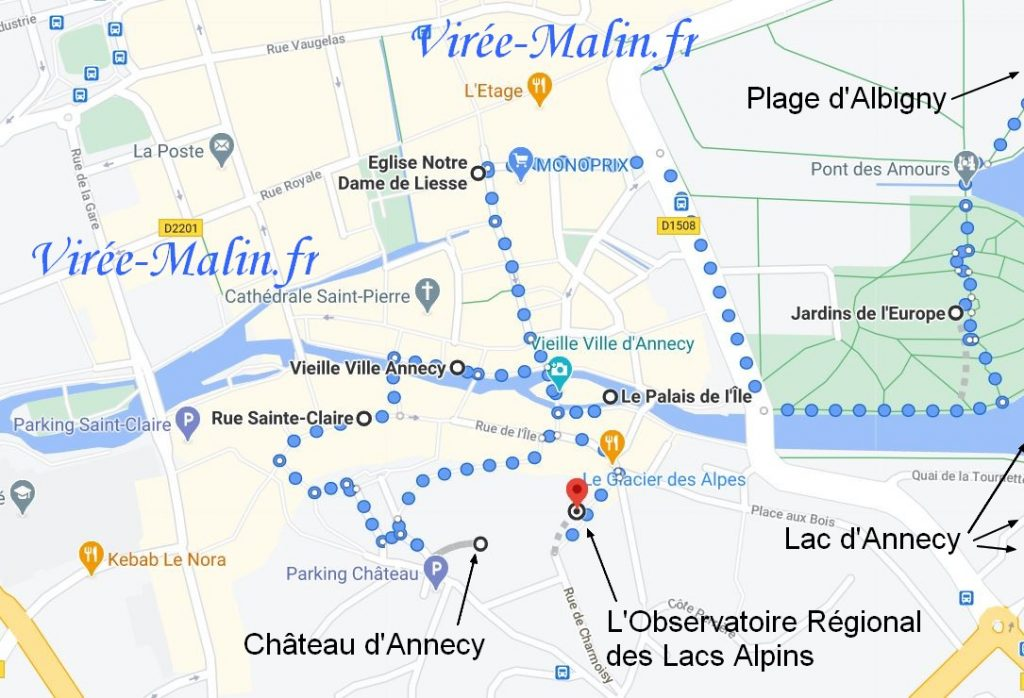 que-visiter-annecy-googlemap
