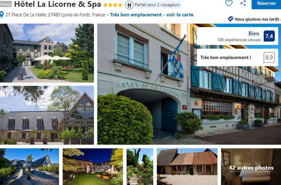 hotel-la-licorne-et-spa-lyon-la-foret