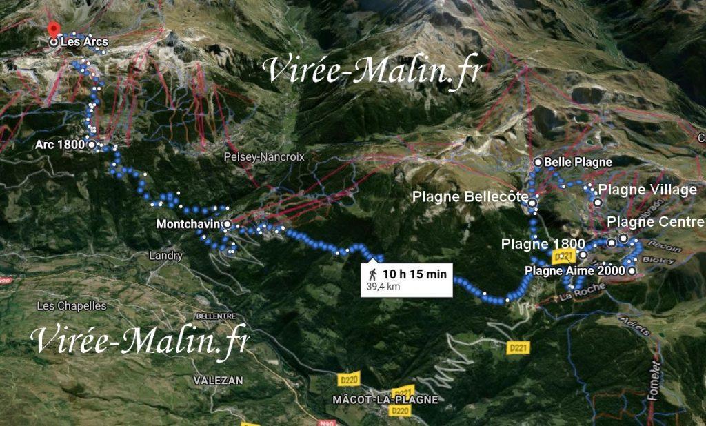 station-ski-plagne-les-arcs-GoogleMap