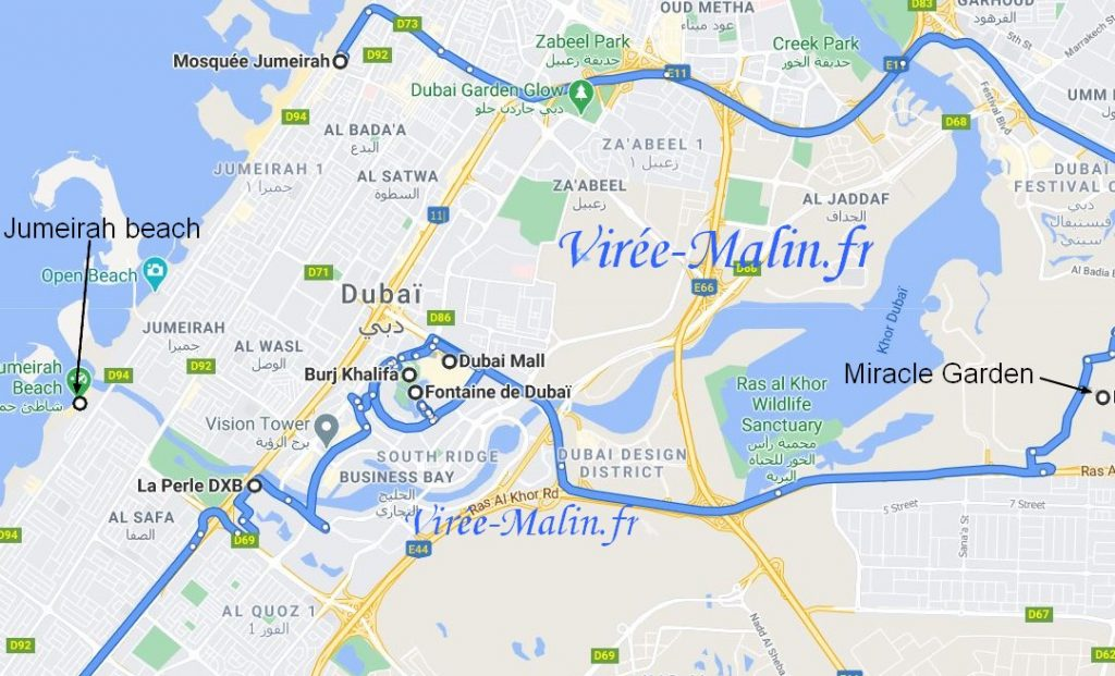 Googlemap-visiter-dubai-nord