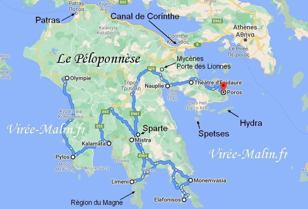 itineraire-Peloponnese-carte-roadtrip
