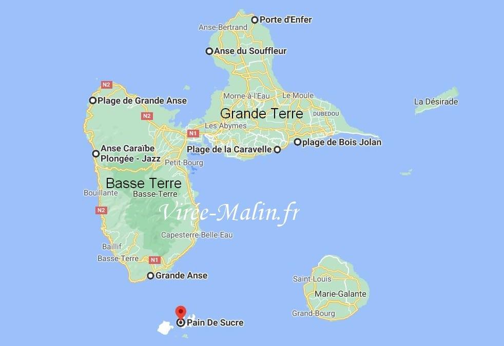 carte-plus-belles-plages-anses-guadeloupe