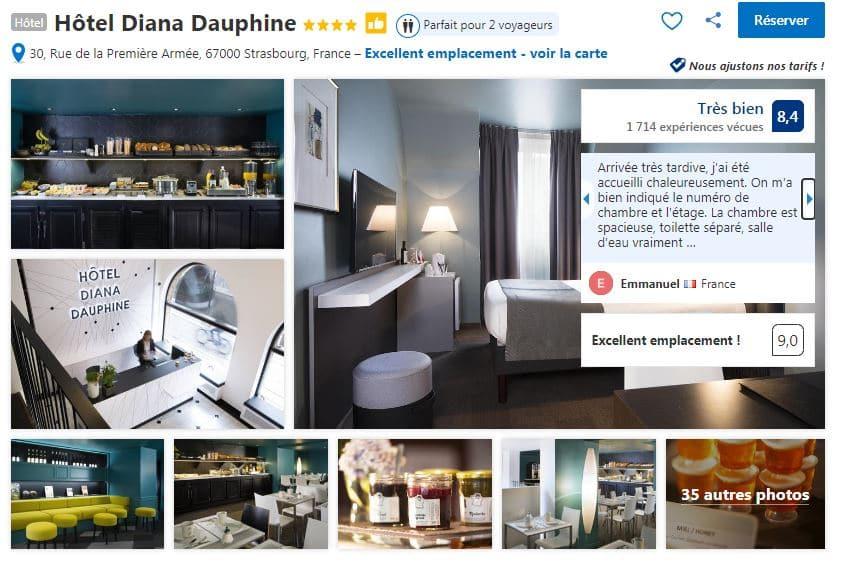 hotel-diana-dauphine-bourse-strasbourg