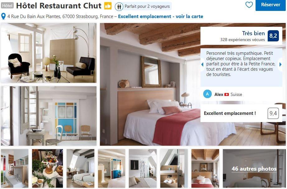 hotel-restaurant-chut-proche-quartier-petite-france-strasbourg