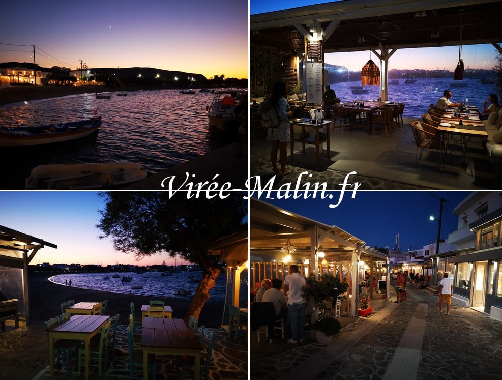 port-milos-soir