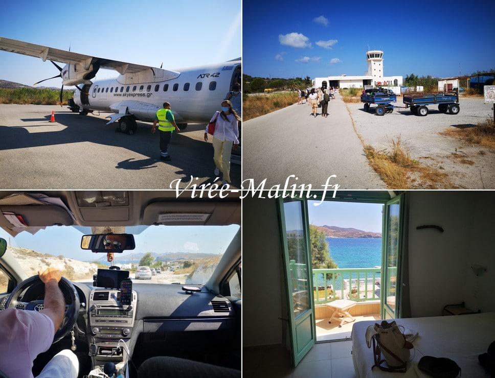 rejoindre-hotel-depuis-aeroport-milos