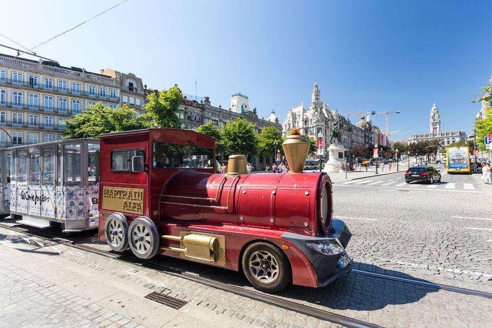 Visiter le cœur de Porto en petit train