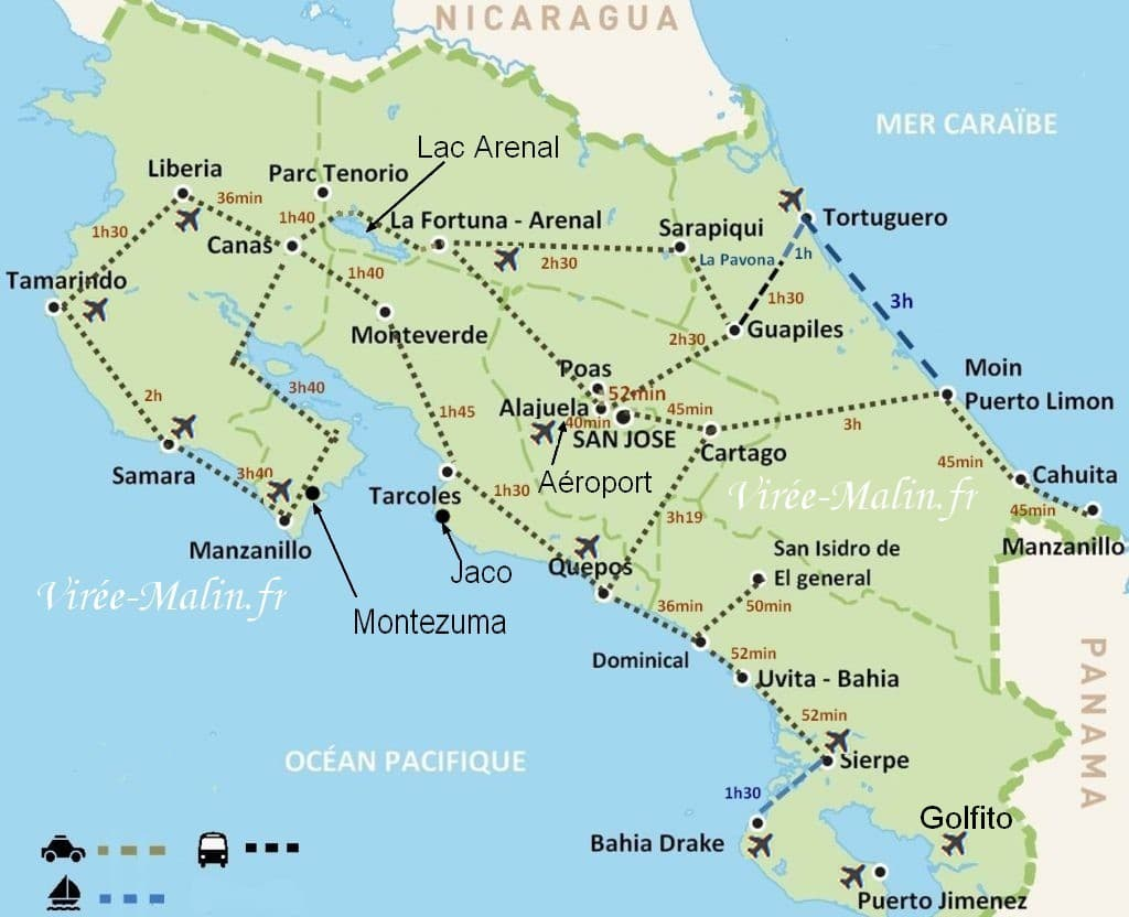 preparer-itineraire-voiture-visiter-Costa-rica