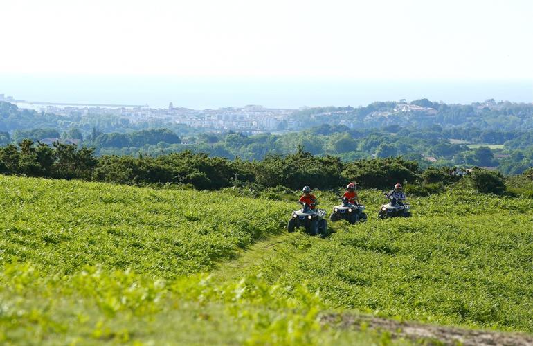 quad-campagne-foret-proche-biarritz-saint-jean-de-luz