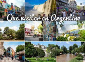 Que faire en Argentine, que visiter en Argentine