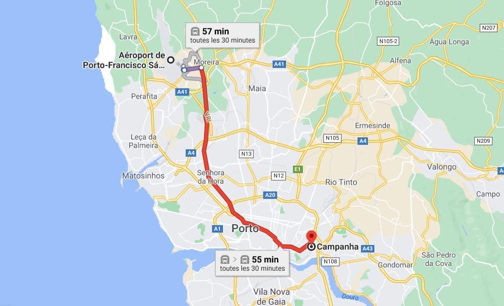rejoindre-vallee-douro-depuis-aeroport-porto-en-train