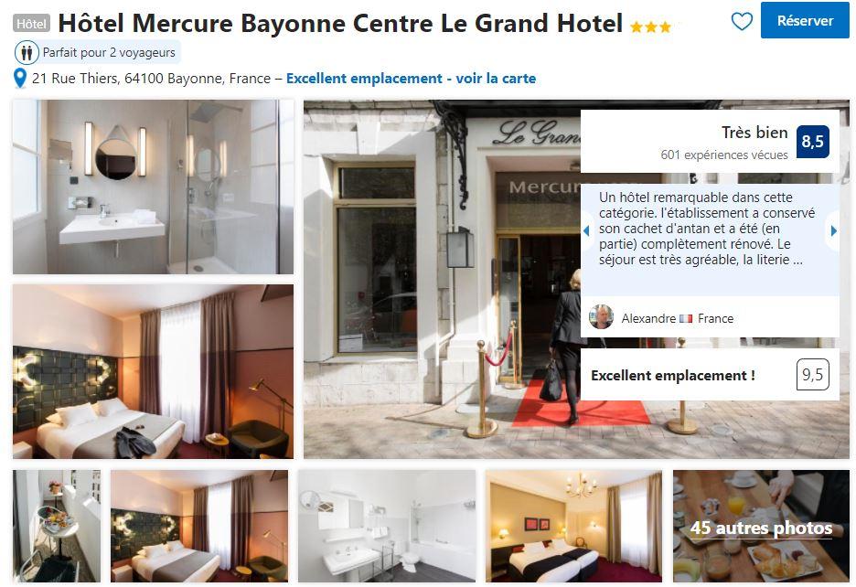 hotel-mercure-vieux-Bayonne