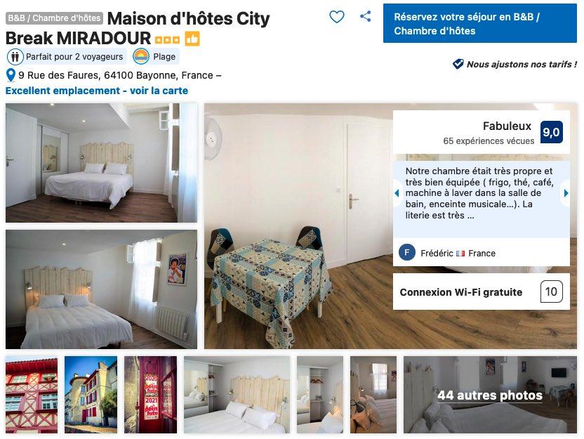 chambre-d-hotes-bayonne-quartier-calme-confortable