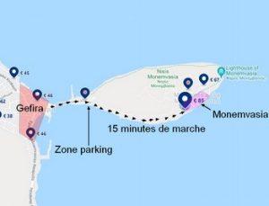Où loger à Monemvasia ? Comment s'y rendre avec sa voiture ?