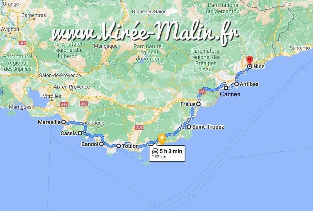googlemap-cote-azur