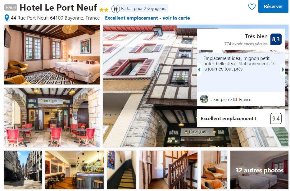hotel-pas-cher-bayonne-authentique
