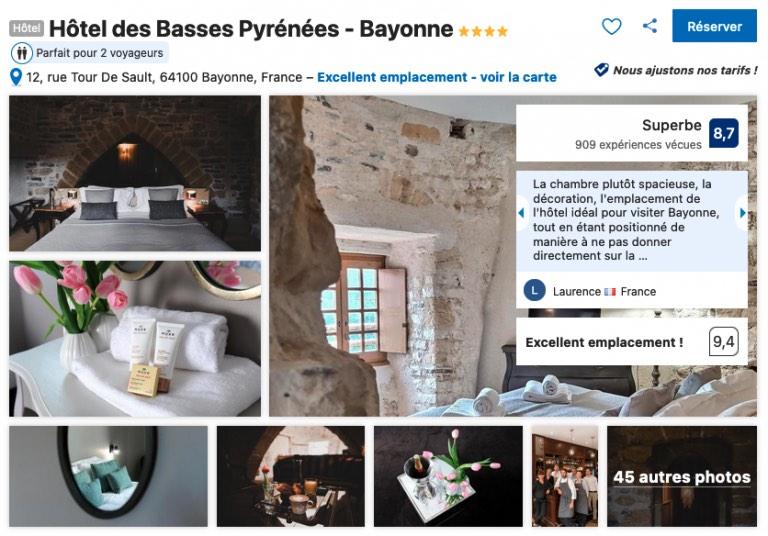 hotel-vieux-bayonne-authentique-petit-dejeuner-copieux-tres-bon-emplacement