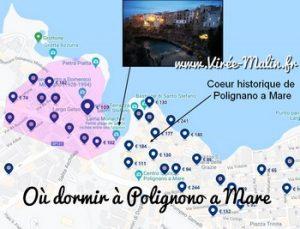 Où dormir à Polignano a Mare ou dans quelle zone loger à Polignano