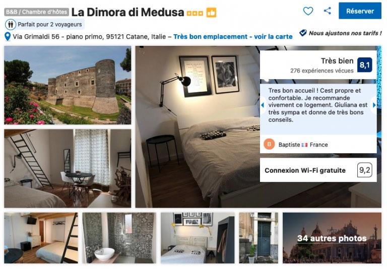 sicile-hotel-catane-bon-rapport-qualite-prix-proche-chateau-ursino