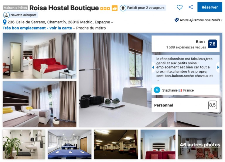 hotel-climatise-et-abordable-madrid-proche-stade-real-madrid