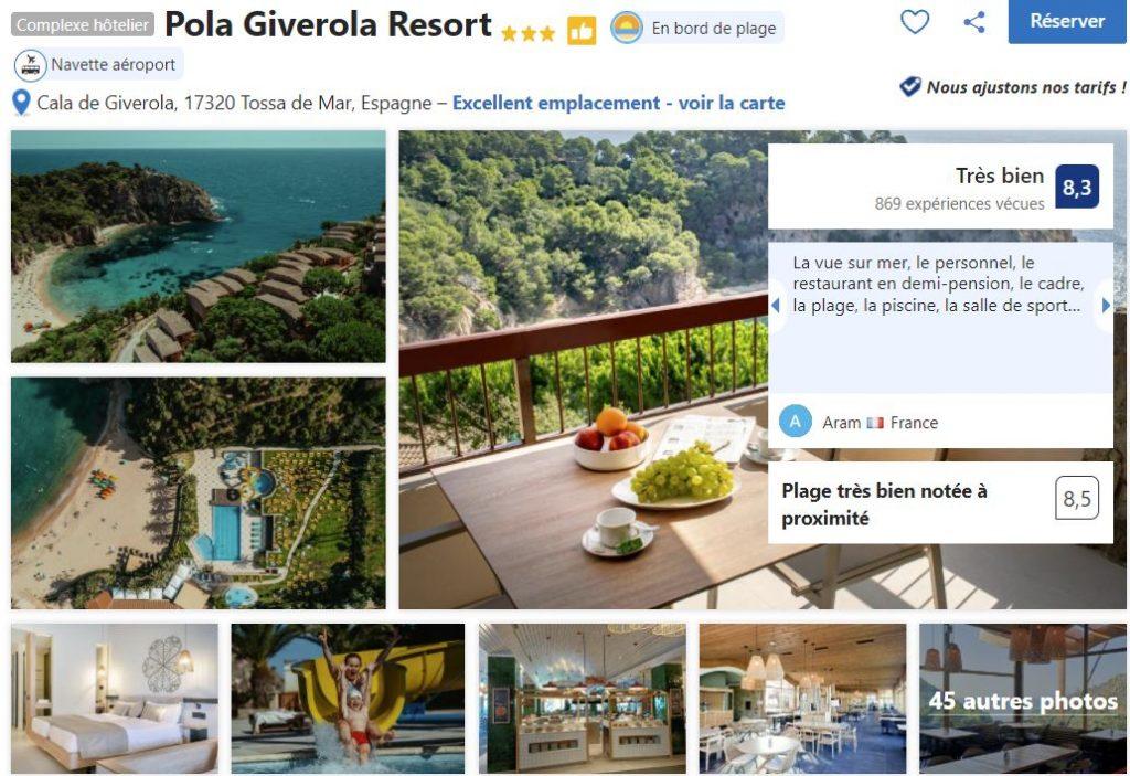 hotel-crique-proche-lloret-del-mar