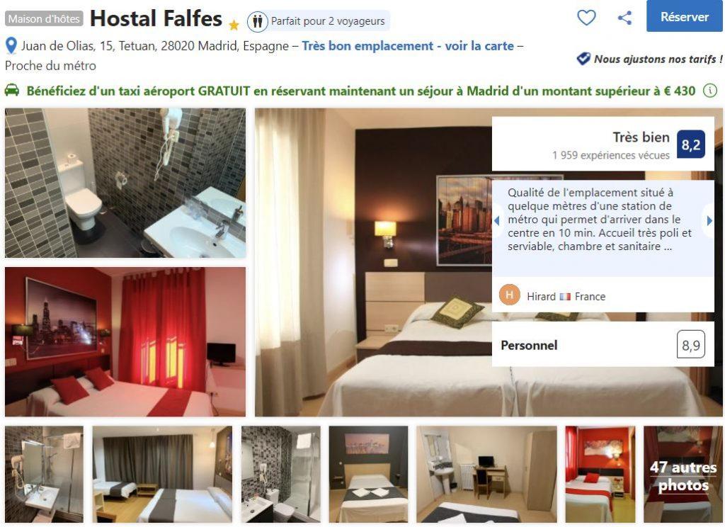 hotel-pas-cher-proche-stadet-foot-madrid