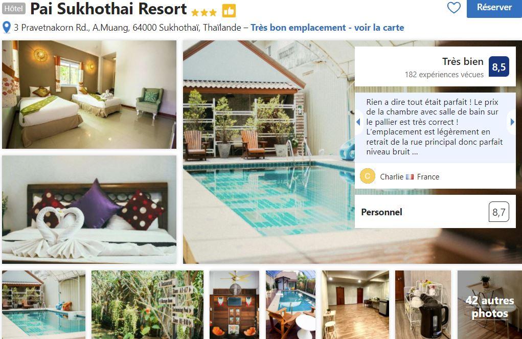 logement-sukhothai-ville-entre-chiang-mai-et-ayutthaia