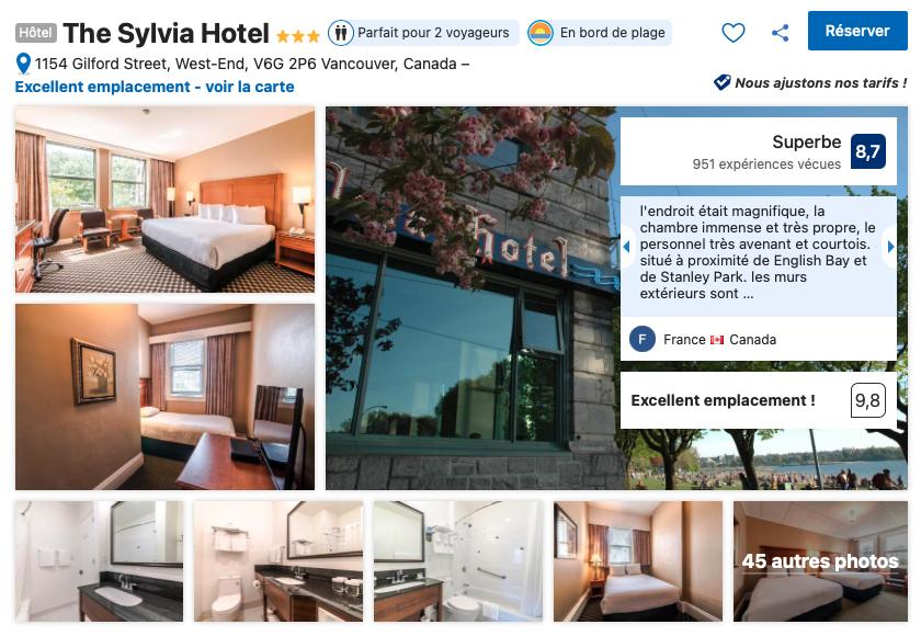 vancouver-hotel-west-end-proche-plage