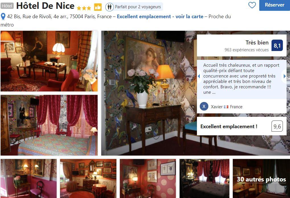hotel-de-nice-quartier-du-marais