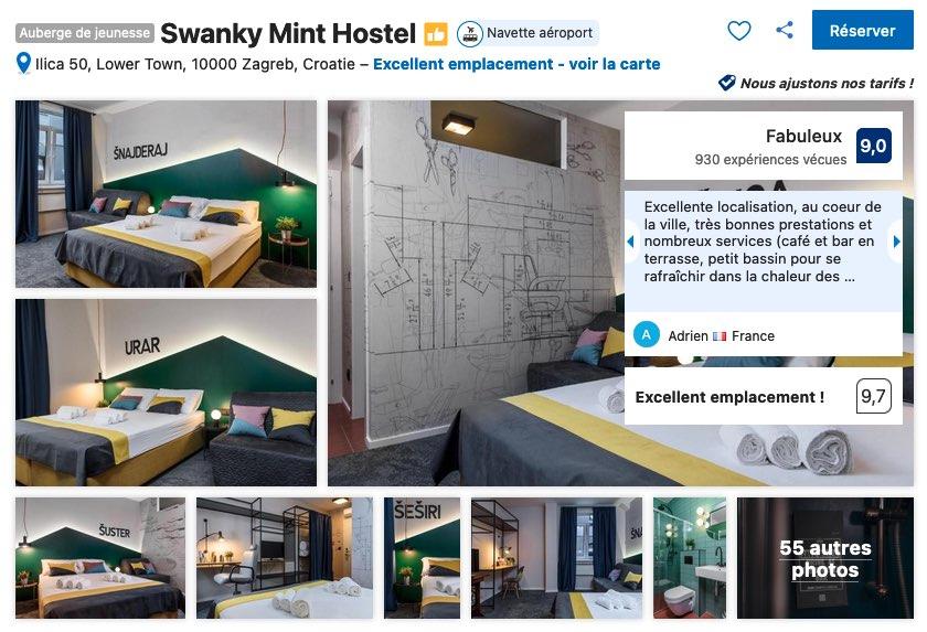 hotel-design-moderne-tout-confort-et-abordable-zagreb