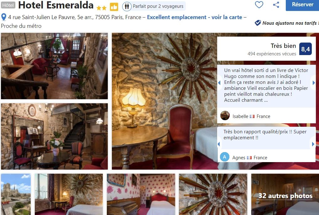 hotel-esmeralda-proche-notre-dame-paris