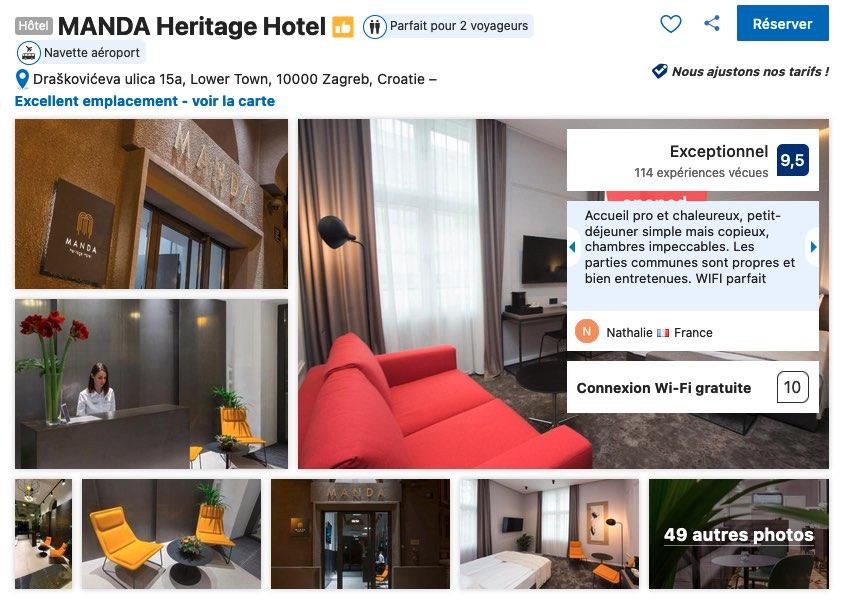 hotel-haut-de-gamme-zagreb-chambre-familiale-possible